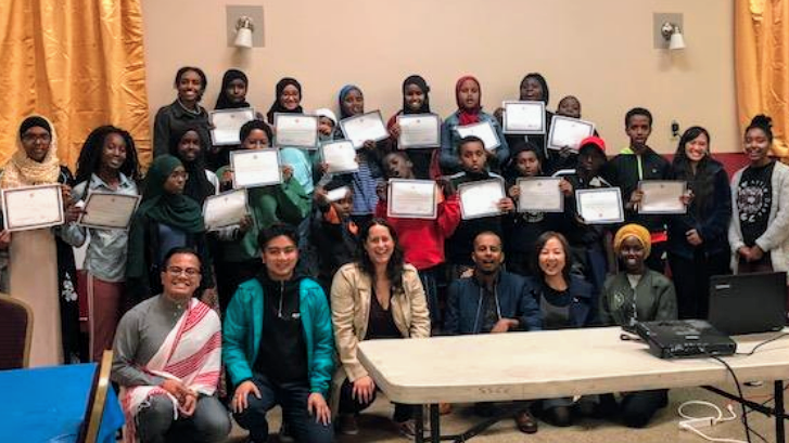 Youth Workshops at East African Cultural Community Center